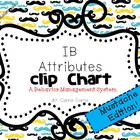 IB Attitudes Behavior Clipchart: Mustache Edition!
