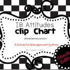 IB Attitudes Clipchart: Checkers Edition!