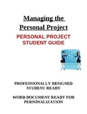 IB MYP Personal Project Student Guide