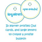 IB learner profiles bulletin set