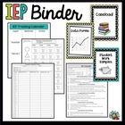 IEP Complete Binder Kit