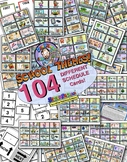 INDIVIDUAL SCHOOL Picture Schedule Cards 64! W/ Multiple D