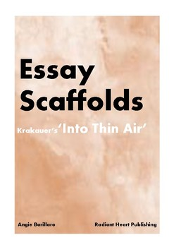 INTO THIN AIR - JON KRAKAUER TWO ESSAY SCAFFOLDS
