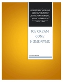 Ice Cream Cone Homonyms