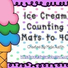 Ice Cream Counting Mats