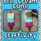 Ice Cream Craftivity - Beginning/End of Year
