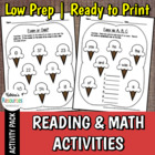 Ice Cream Early Childhood Math &amp; Literacy Activities