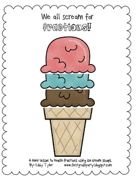 Ice Cream Fraction Sheets