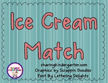 Ice Cream Match- Sight Words