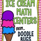 Ice Cream Math Centers