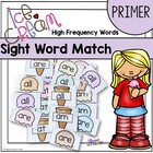 Ice Cream Sight Word Matching Game Primer Dolch Words