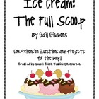 Ice Cream: The Full Scoop, by G. Gibbons, Questions and Pr