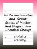 Ice Cream-in-a-Bag and Grunt: States of Matter, and Physic