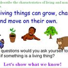 Identifiy Living and Nonliving Things