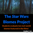 Identify Biomes with all six Star Wars Movies - Project &amp; Rubric