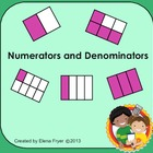 Identifying Numerators and Denominators - Common Core 3rd