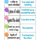 Idiom Matching Game Perfect for centers!