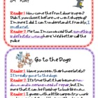 Idiom mini-readers theater cards for second grade