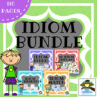 Idioms Set {Anchor Chart, Displays, Games, Activities}