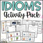 Idioms Study Guide, Activity, and Worksheet