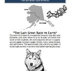 Iditarod Dog Sled Race Simulation Activity (Southern Route)
