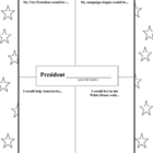 If I Were President- Printable
