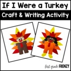 If I Were a Turkey Craftivity and Printables