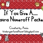 If You Give A.. Laura Numeroff Packet