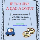If You Give a Dad a Donut - Father&#039;s Day book - Craft - Writing