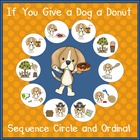 If You Give a Dog a Donut- Sequencing Activities