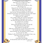If You Give a Mom a Muffin Poem- Mother's Day- FREEBIE