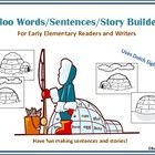 Igloo Words, Sentences, or Story Builders for Early Elem. Writers