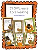 I'll OWL-ways Love Reading