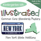 Illustrated Common Core Standards Posters - New York State