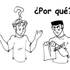 Illustrated Interrogative (Question) Words in Spanish  to Color