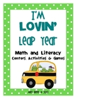 I&#039;m Lovin&#039; Leap Year Math and Literacy Activities