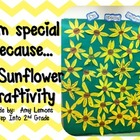 I'm Special Because... {A Sunflower Craftivity}