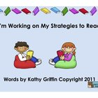 I'm Working on My Strategies to Read for  Smart Board or IWB