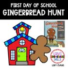 I'm Your Gingerbread Man ... 1st week of school activities