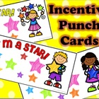"""I'm a STAR"" INCENTIVE PUNCH CARDS (editable)"