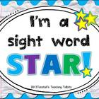I&#039;m a Sight Word Star!
