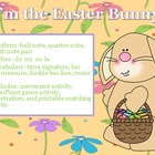 I'm the Easter Bunny - Easter song and activities for prac