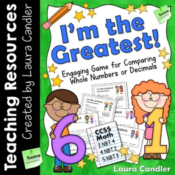 I'm the Greatest (Comparing Numbers Math Game)