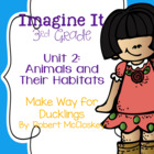Imagine It Make Way for Ducklings Grade 3