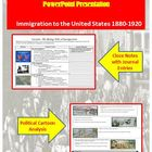 Immigration &amp; Intolerance Lecture Power Point (U.S. History)