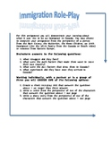 Immigration Role-Play Activity