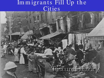 Immigration to the United States in the late 1800s early 1900s