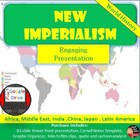 Imperialism Lecture, Cornell Notes, Graphic Organizer (Wor