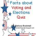 Important Facts about Voting and Elections Quiz with Answer Key!
