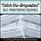 Imposter Word Identification for Comprehension &amp; Visual Di